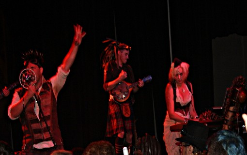 Abney Park at Dragon*Con 2011