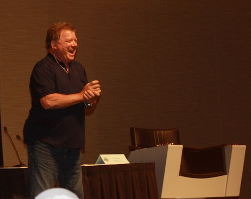 William Shatner at Dragon*Con 2011