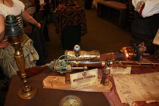 A mighty fine steampunk rifle