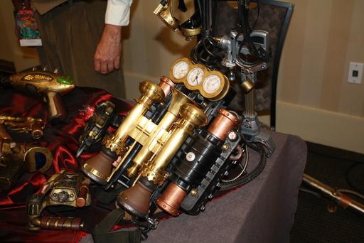 Perhaps a portable steam power pack?