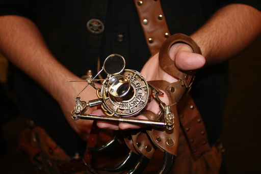An occular apparatus for paranormal investigations