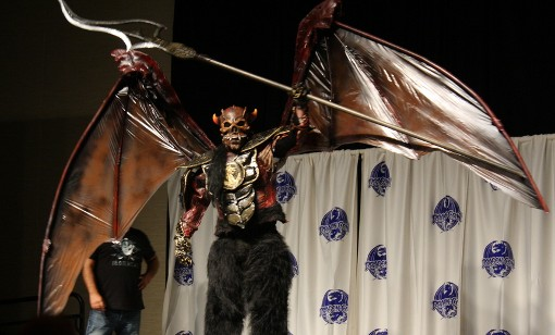 Giant Demon at the Masquerade Costum Contest