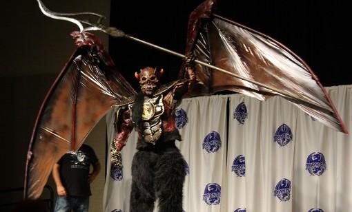 Giant Demon at the Masquerade Costum Contest